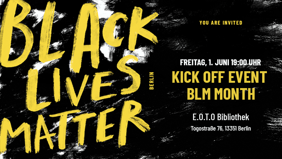 Black Lives Matter Monat 2018